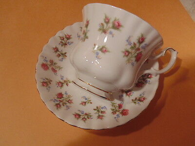vintage royal albert cup and saucer, WINSOME PATTERN