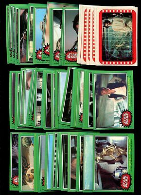 1977 Star Wars Series 4 Complete Set Nmmt W/ Stickers *inv4916