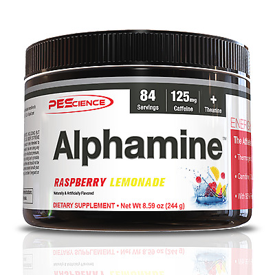 PES Alphamine All Flavors Fast Free shipping Thermogenic fat loss 84sv