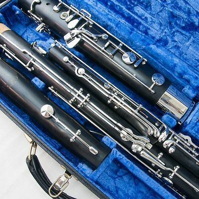 Recent Production Fox Model IV Bassoon, Overhauled and Adjusted + High D Key!