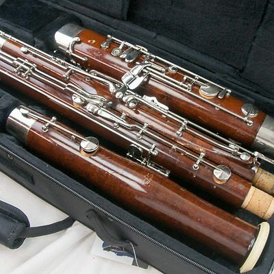 Fox Renard Model 222 Wood Bassoon, Overhauled & Adjusted, + Pro U-Tube