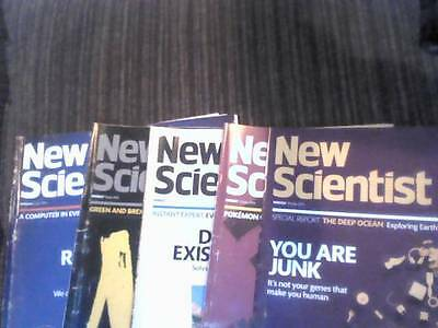 New Scientist Magazines: July 2016 - Job Lot of 5 magazines starting £1 each