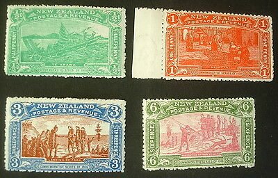 1906 New Zealand  Christchurch Exhibition. SG.370/373. Complete Unmounted Mint.