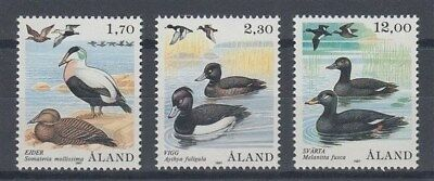 Aland 1987 Birds Set (3) Mint (Id:422/d44384)