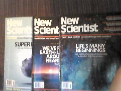 New Scientist Magazines: August 2016 Job Lot of 3 magazines starting £1 each