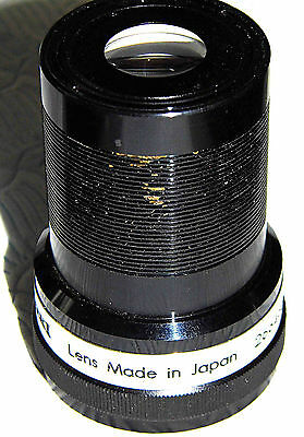 EIKI Super Prominar-16 50mm f1.2 16mm Projector Lens * Made In Japan No. 266435