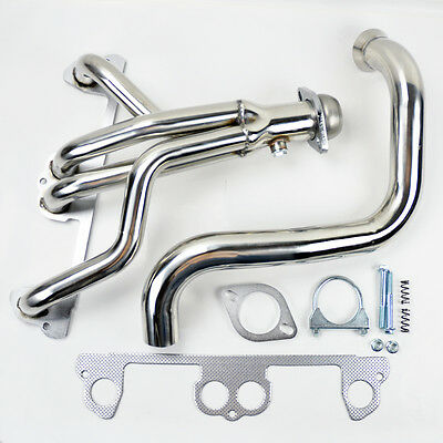 Jeep Wrangler TJ 1997-1999 2.5L L4 Stainless Manifold Header w/ Downpipe