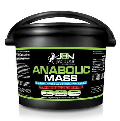 X2 tubs ANABOLIC MASS 9KG *WEIGHT GAINER*WHEY PROTEIN*HIGH CALORIE*