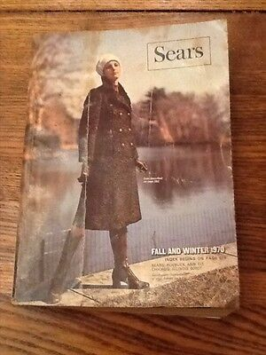 Vintage Sears Fall and Winter Catalog 1970