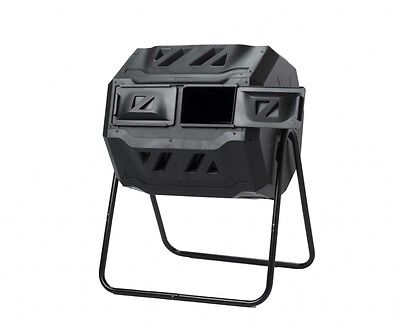 160lt Roto Twin Compost Tumbler (Free Shipping Aus Wide)