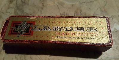 Vintage Lancer Harmonica Hohner-Panarmonic Made In Republic Of Ireland