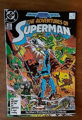 The Adventures Of Superman #426 Dc March 1987 Very Fine
