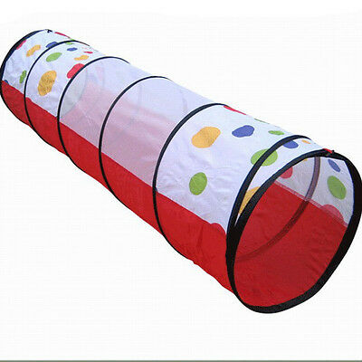 Baby Toy Kids Play Tunnel Tent Children Exploration Discovery Crawl Tube