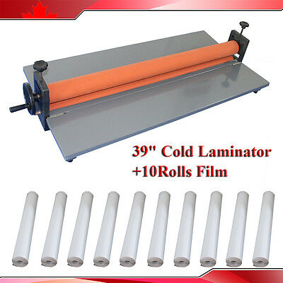 "10Kind0.69x1Yard(36"") 10Roll Cold Laminating Vinyl Film+39inch Cold Laminator"
