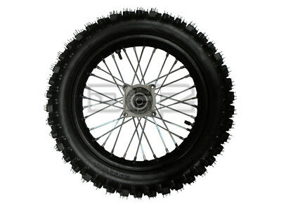 """NEW 14"""" REAR COMPLETE WHEEL, RIM AND TYRE, Fit 15MM AXLE"""