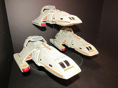 Star Trek Ds9 Runabout Flight Display Model Kit Build Up 1:72 Scale