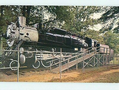 Pre-1980 STEAM TRAIN GIFTED TO CITY Amory Mississippi MS Q1048