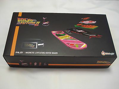 Back to the Future Magnetic Floating Hoverboard Set Kids Logic NEW ML01