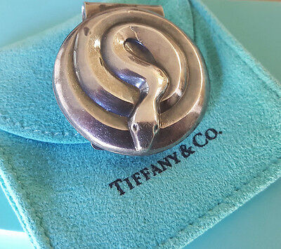 Tiffany & Co. Coiled Snake Money Clip PLUS...