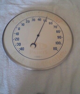 Collectible C.I.L House Paint Advertising Thermometer Beat The Weather