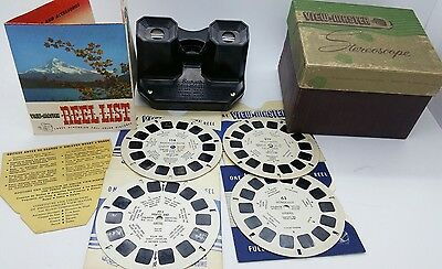 Vintage SAWYER'S View Master stereoscope w/4 Reels