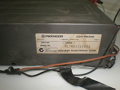 Used CD-Changer Pioneer CDX-P630S