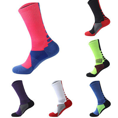 Outdoor Breathable Men Basketball Athletic Sport Socks Thicken Towel