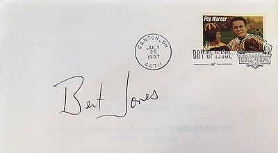 Bert Jones Baltimore Colts Signed First Day Cover