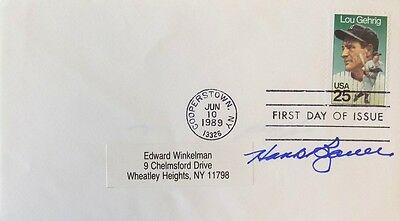 Hank Bauer New York Yankees Signed First Day Cover