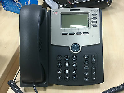 Cisco SPA504G IP VoIP Phones - POE - Unlocked to all networks - Lot of 5 phones