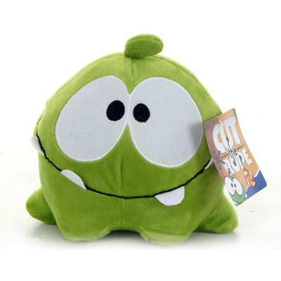 """2017 New Brand New 8"""" Cut The Rope Happy Face Plush Om Nom Soft Toy"""