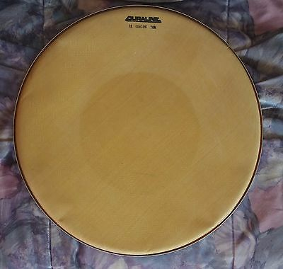 Vintage Duraline(and other) drum heads, 5 pieces FREE SHIPPING