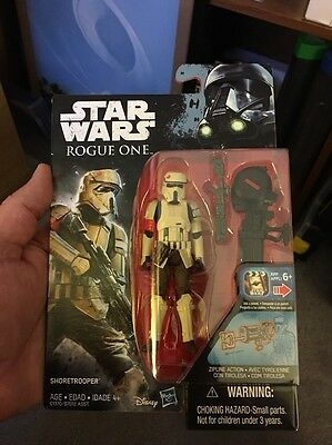 Star Wars Rogue One Shoretrooper 3.75 Inch Figure New