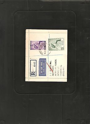 Malaya Pahang 1948 Silver Wedding Cover