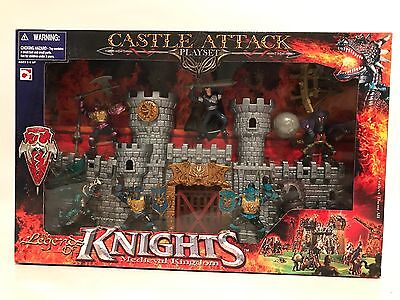 Castle Attack Playset The Legends Of Knights Medieval Kingdom Dragons Chap Mei