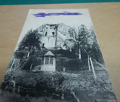 WW1 Postcard Lucheux the Somme soldier essage and location crossed out b2.