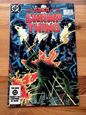 Saga of the Swamp Thing #20 Comic First Alan Moore DC Very Good/Fine