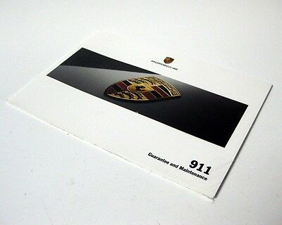 Porsche 911 997 Carrera  & Turbo 2009 Service Guarantee Maintenance Book 09