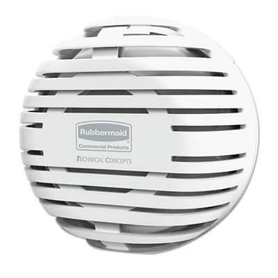 "Rubbermaid 1957532 Tcell Dispenser, 4.09"" Diameter X 2.36"", White"