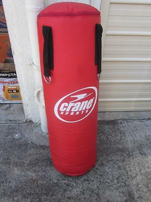 Crane Sports Punch Punching Bag Red Colour