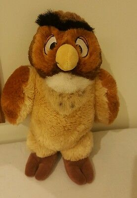 """Disney Store Winnie The Pooh Owl 10"""" Plush Soft Toy New Without Tags"""