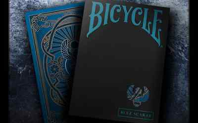 Scarab Blue Bicycle Deck Of Playing Cards By Crooked Kings Magic Tricks Poker