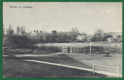 A View of Kirton In Lindsey, Lincolnshire postcard