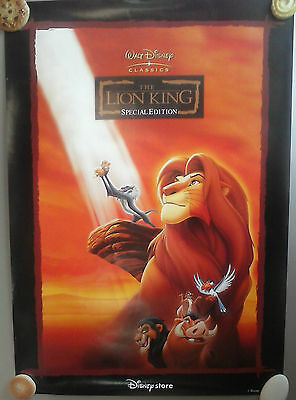 Lion King poster - Disney Store exclusive! COOL!
