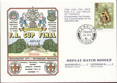 1981 FA Cup Final Replay Manchester City V Tottenham - Dawn First Day Cover