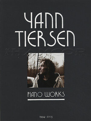 Yann Tiersen Piano Works Sheet Music Book 1994-2003 23 Pieces