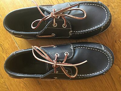 Boys Timberland Deck Shoes Size 3