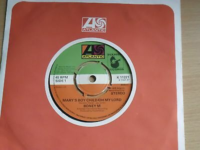 "Boney M Mary's Boy Child/Oh My Lord b/w Dancing In The Streets 7"" 1978 K 11221"
