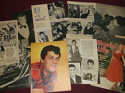 Tony Curtis - Clippings
