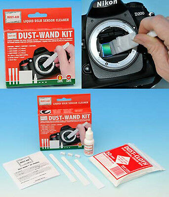 Dust-Aid Wand Kit For CCD Sensor Cleaning - NEW UK STOCK